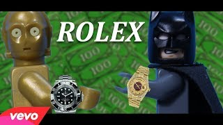 Rolex - Ayo and Teo | Official LEGO Music Video | Stop Motion Animation Video