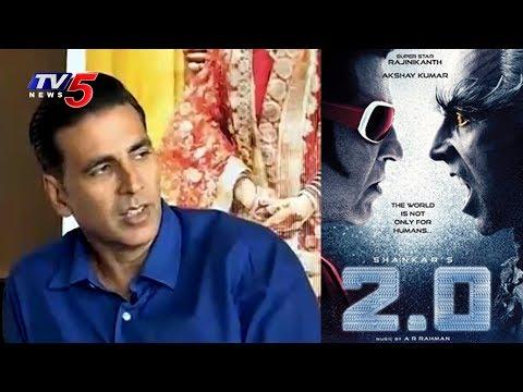 Akshay Kumar on Robo-2.0 Movie | Praises Rajinikanth and Director Shankar | TV5 News