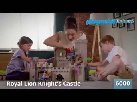 Королевский замок рыцаря Льва Playmobil 6000