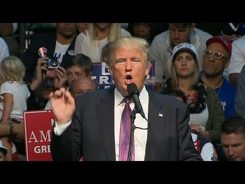 Full Video: Donald Trump holds rally in Everett, Washington