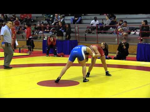 2015 Nordhagen Classic: 53 kg Bronze Jessica Medina vs. Cara Nania