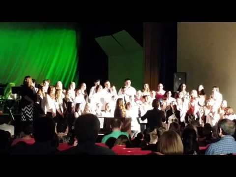 """Ernie Davis Academy Chorus - """"21 Guns"""""""