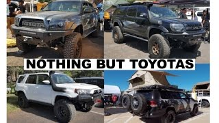 Toyotas make for great overlanding vehicles (Nothing but Toyotas in this video) : Overland Expo 2017 thumbnail