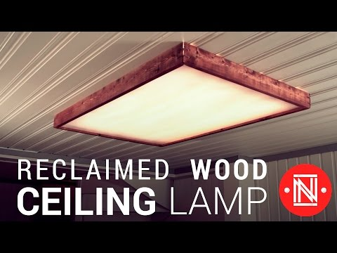 Making a Reclaimed Wood Box Light  ||  How-to