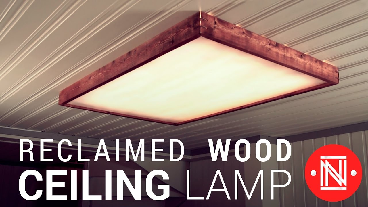 Making A Reclaimed Wood Box Light How To