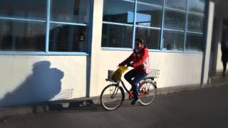 Piestany old people riding bikes