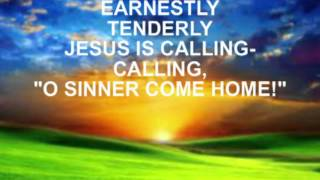Softly and Tenderly  worship video instrumental with lyrics