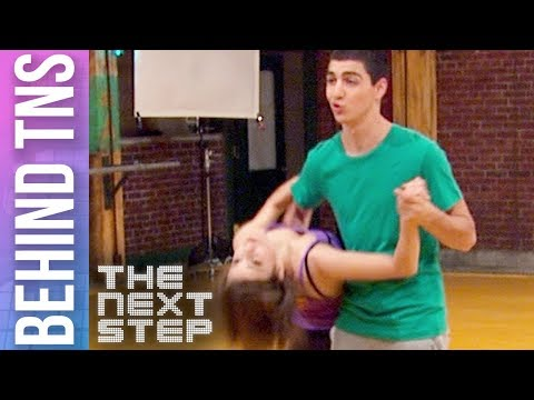 """Behind the Scenes: James & Riley """"Tied to You"""" Duet - The Next Step"""