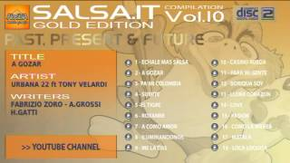 SALSA.IT VOL.10 GOLD EDITION:A GOZAR,URBANA 22 ft TONY VELARDI