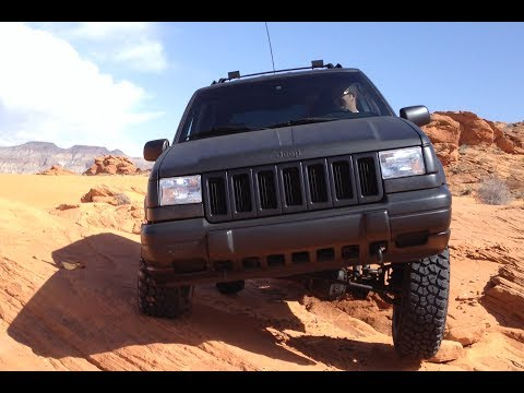 jeep grand cherokee zj sand hollow ut youtube. Black Bedroom Furniture Sets. Home Design Ideas