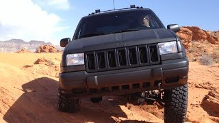 Jeep Grand Cherokee ZJ sand hollow UT