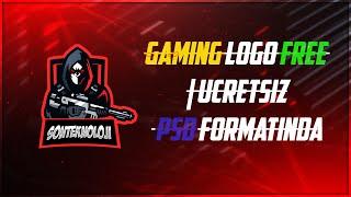 Gaming Logo Free | Ücretsiz Maskot Logo