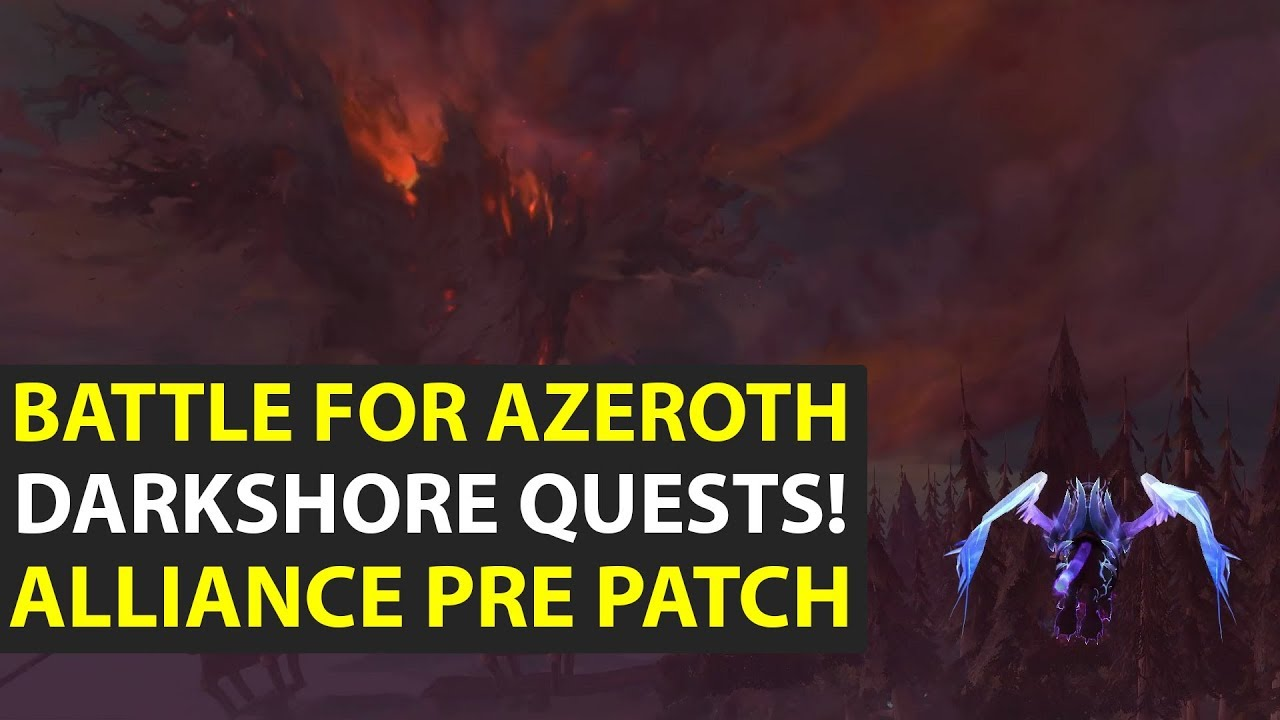 wow how to start pre patch quest