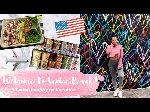 California Travels Part 1! Welcome to Venice / Wholefoods Haul