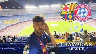 FC Barcelona vs. FC Bayern München - UCL Stadionvlog   Die nächste Blamage...    ViscaBarca