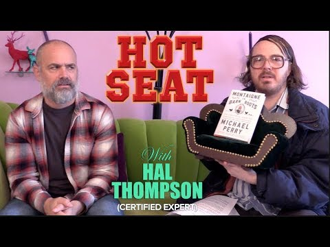 Bestselling author Michael Perry   Hot Seat with Hal Thompson