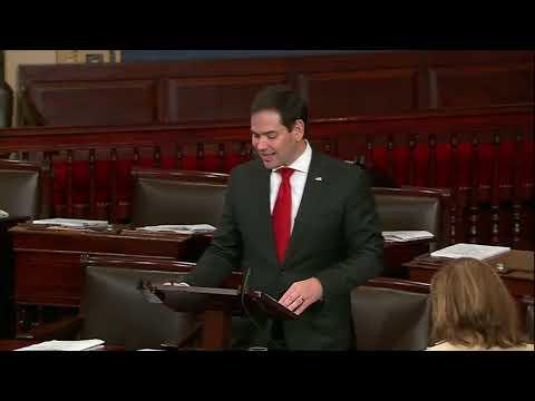 On Senate Floor, Rubio Speaks on FDA Rule that Threatens Florida Premium Cigar Makers