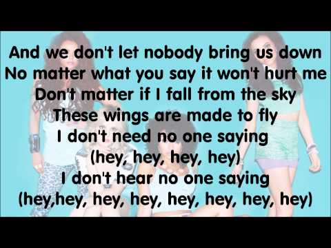 Little Mix - Wings (with Lyrics)