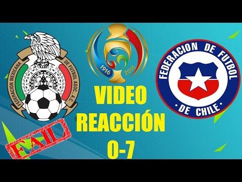 México vs Chile | VÍDEO REACCIÓN | Copa América Centenario 2016 |Derrota ÉPICA|