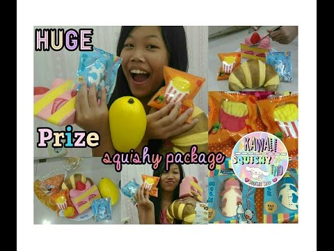 Huge Squishy Packaging Design Prize from KawaiiSquishy.Ind