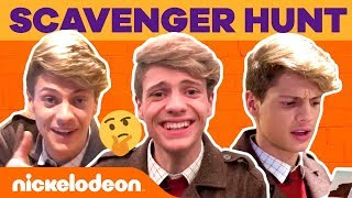 Jace Norman's Scavenger Hunt in Nick Headquarters | Bixler High Private Eye | #NickStarsIRL