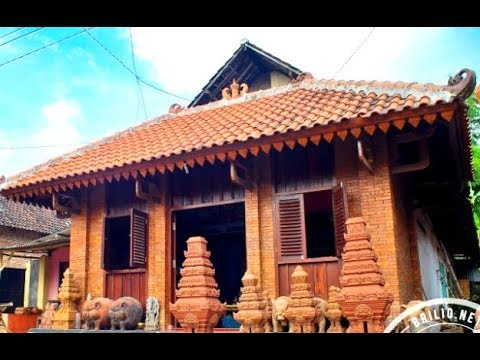 KAMPUNG MAJAPAHIT Village - Wisata Candi Bejijong Trowulan Mojokerto [HD]