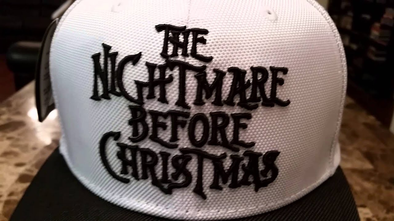 New Era The Nightmare Before Christmas Hat Collection - YouTube