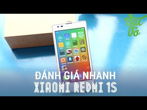 Vật Vờ| Xiaomi Redmi 1S smartphone duy nhất chip Snapdragon dưới 2 triệu
