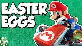Easter Eggs in Mario Kart 8 - MK8 Easter Eggs - Easter Eggs With DPadGamer