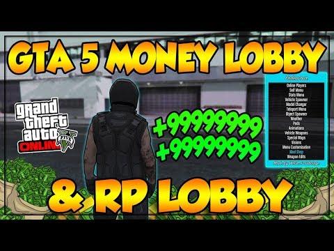 GTA 5 LOBBY MONEY/RP LOBBY FREE LIVE