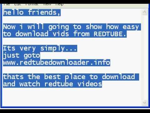 Redtube online download