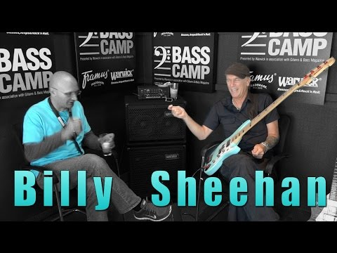 Henning has Coffee-Talk with Billy Sheehan