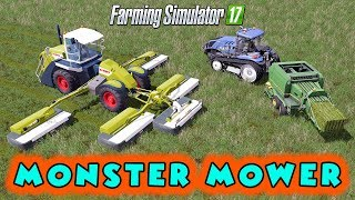 "[""Monster Mower"", ""CLAAS COUGAR"", ""JOHN DEERE 690"", ""Oregon Springs 17 Map"", ""Farming Simulator 2017 Mods"", ""Ai Cave"", ""FARMING SIMULATOR 17"", ""FARMING SIMULATOR 17 Mods"", ""FARMING SIMULATOR 2017"", ""Landwirtschafts-Simulator 17 Mods"", ""Landwirtschafts-Sim"