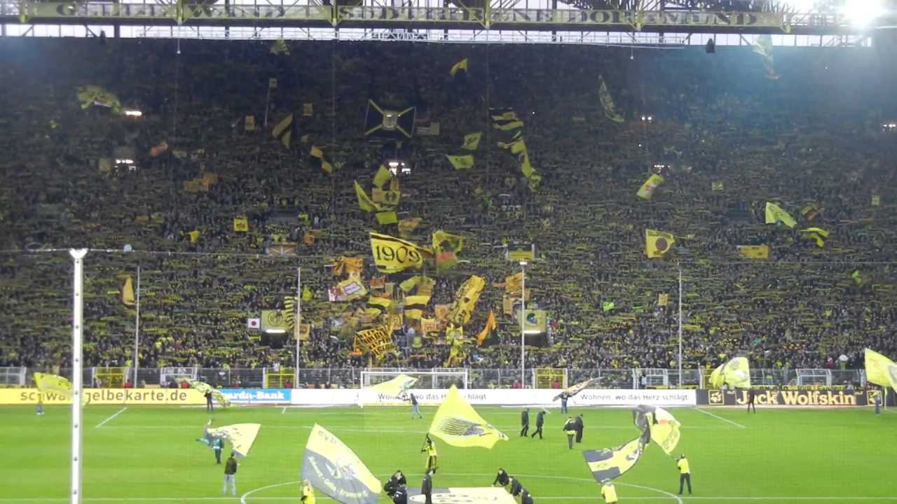 "BVB-Hannover 96: You""ll never walk alone"