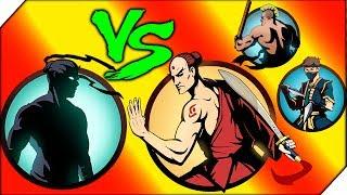 БОГОМОЛ И КРУТЫЕ КРИСЫ - Shadow Fight 2 # 9 Бой с тенью (Шадоу файт 2) ИГРА мультик