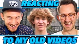 Watch The Full Videos On J-Freds Channel ➡   http://youtu.be/0yFy1YLUQ2c Watch The Previous 'Reacting To Old Videos ➡   http://bit.ly/Reacting1 ⬇   MORE ...