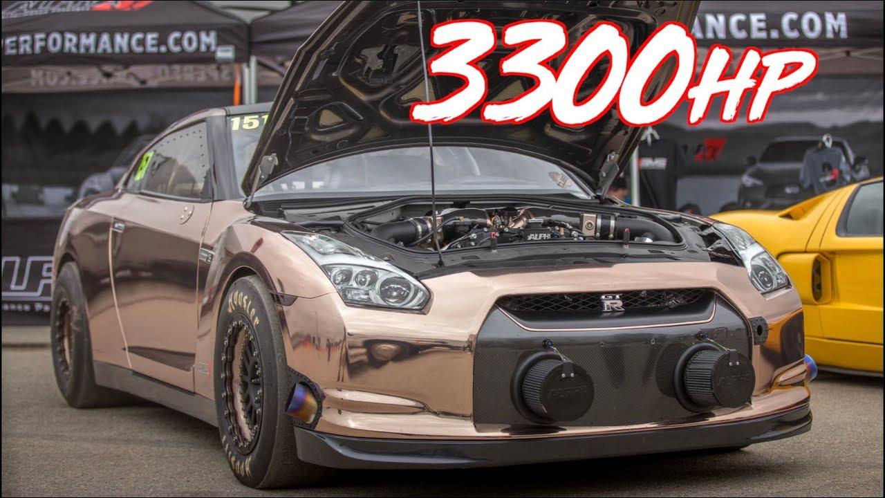 3300HP Alpha Queen GTR 228MPH! - Worlds Most Powerful GTR?