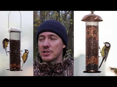Покупные кормушки для птиц
