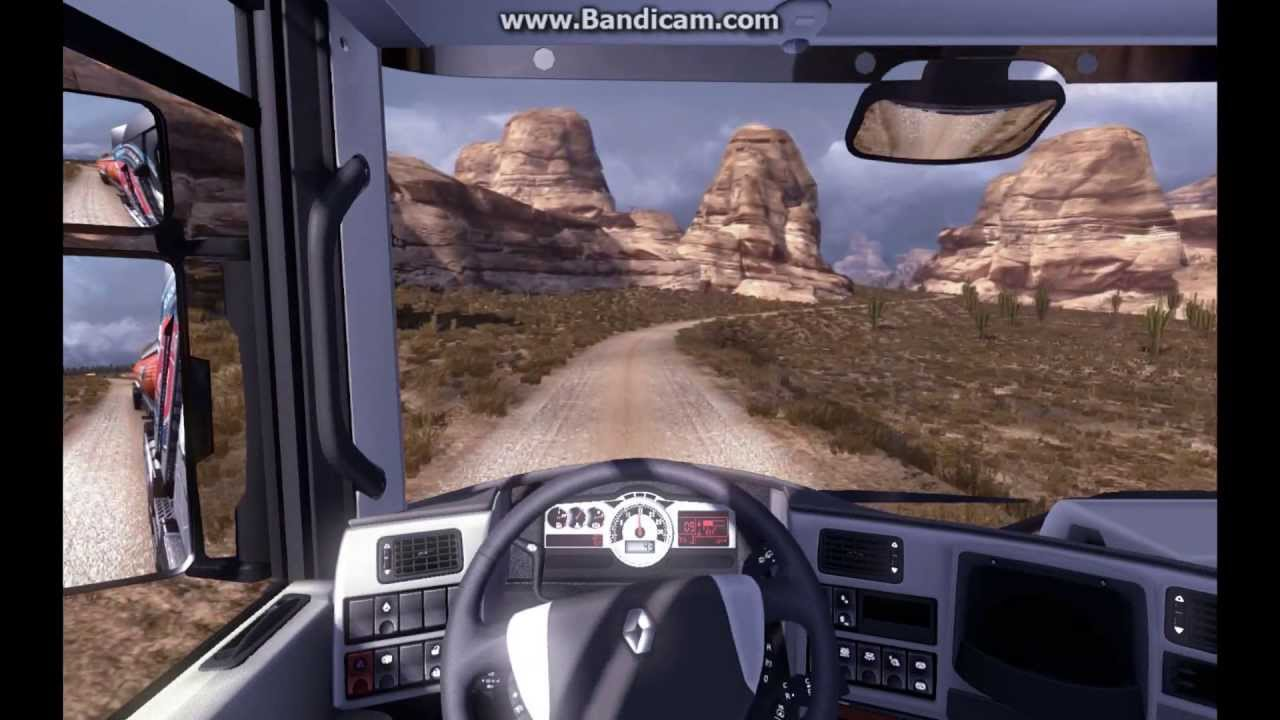 ETS American Map Gameplay HD YouTube - Best truck maps us