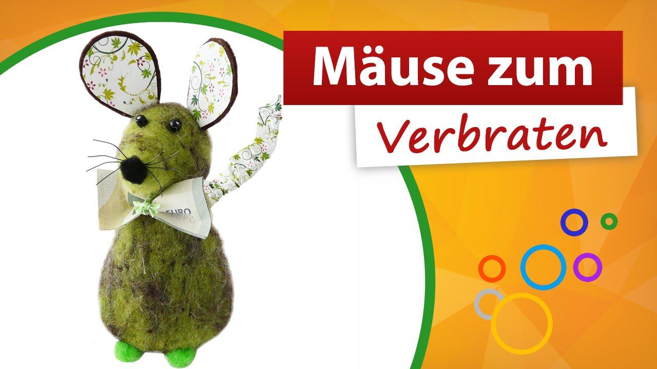 Mause Zum Verbraten Geldgeschenke Trendmarkt24 Youtube