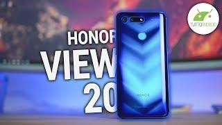 HONOR View 20 recensione: BELLISSIMO e che POTENZA! | ITA | TuttoAndroid
