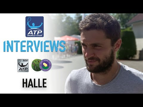 Gilles Simon Back In Halle After Many Years