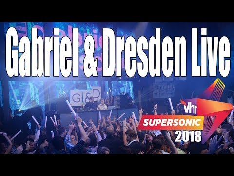 Gabriel & Dresden - Part 2 Live at Vh1Supersonic 2018 Day 3 Pune India(Exclusive)