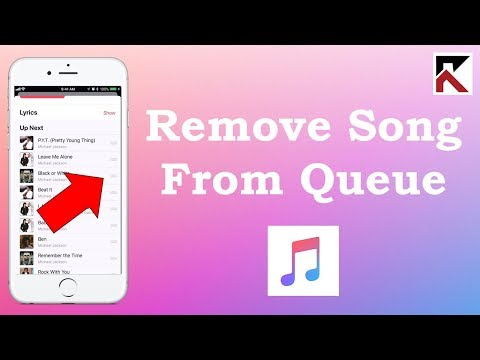 How To Remove Songs From Up Next Queue Apple Music