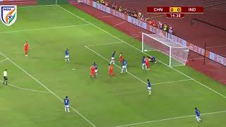 India vs China Football Match Highlights | Full time Score 0 - 0