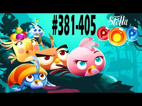 Angry Birds Stella Pop Levels {381-405} Walkthrough For Android