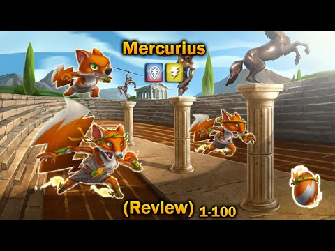 Monster Legends - Mercurius (Review) Level 1 - 100