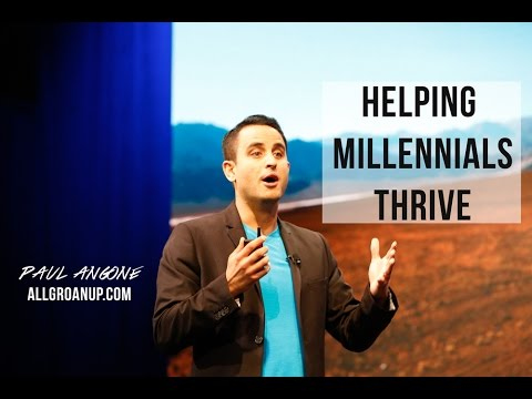 Paul Angone | Leading Voice for Millennials | Best-Selling Author and Creator of All Groan Up