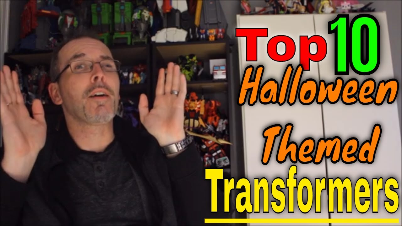 GotBot Counts Down: Top 10 Halloween Related/Themed Transformers Characters