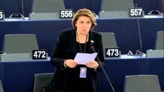 Intervento in aula di Caterina Chinnici sulla situazione nel Mediterraneo e la necessità di un approccio globale alla migrazione
